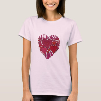All You Need Is Love Heart T-Shirt