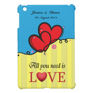 All you need is Love iPad Mini Covers