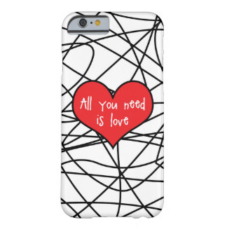 All You Need Is Love Iphone 6/6s Case