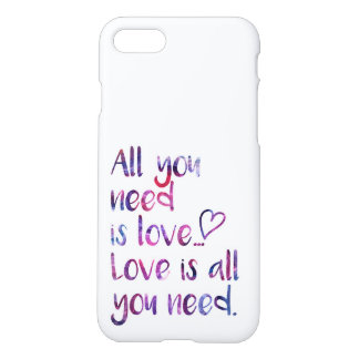 All you need is love iPhone 8/7 case