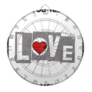 All You Need is Love Is all You Need Dartboard
