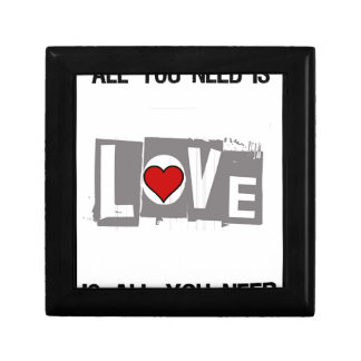 All You Need is Love Is all You Need Gift Box
