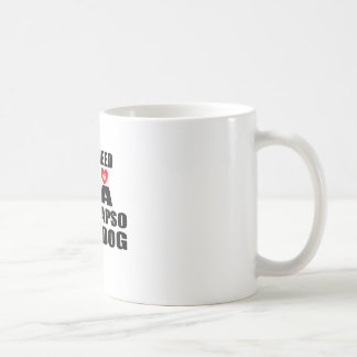 ALL YOU NEED IS LOVE LHASA APSO DOGS DESIGNS COFFEE MUG
