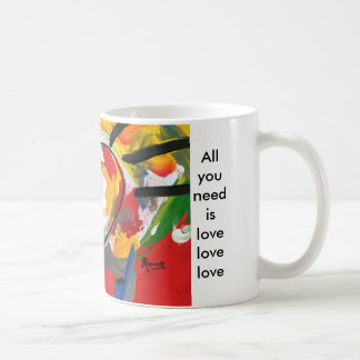 All you need is love painting Mugs