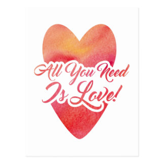 all-you-need-is-love postcard