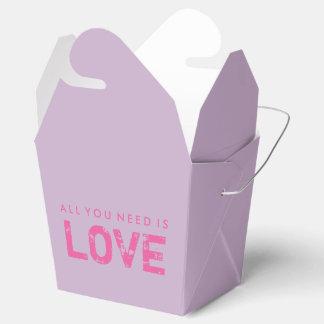 All You Need Is Love Purple Valentine Treat Box