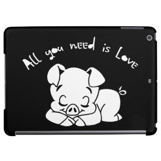 All you need is love, quote iPad air cover
