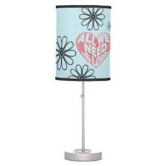 All you need is love table lamp