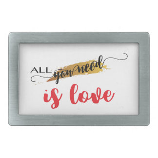 All-you-need-is-Love Valentine Belt Buckle