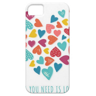 all you need IS love You only needs love iPhone 5 Covers