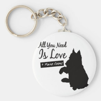 All You Need Is Maine Coons key supporter Keychain