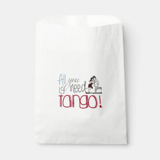 All you need is Tango quote Favour Bag