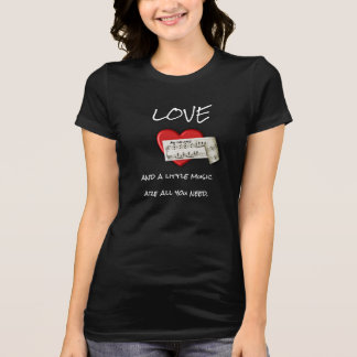 All You Need - Music and Love --- ImpressT's T-Shirt