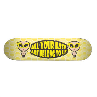 All Your Base Are Belong To Us Skateboard