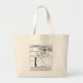 All Your Insurance Company Will Pay For Jumbo Tote Bag
