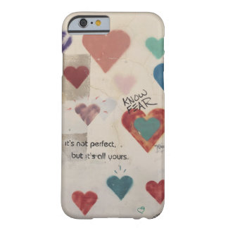 All Yours - Heart Graffiti Barely There iPhone 6 Case