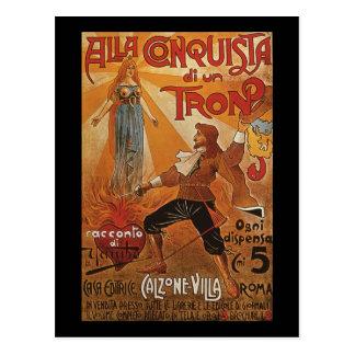 Alla Conquista di un Tron Postcard