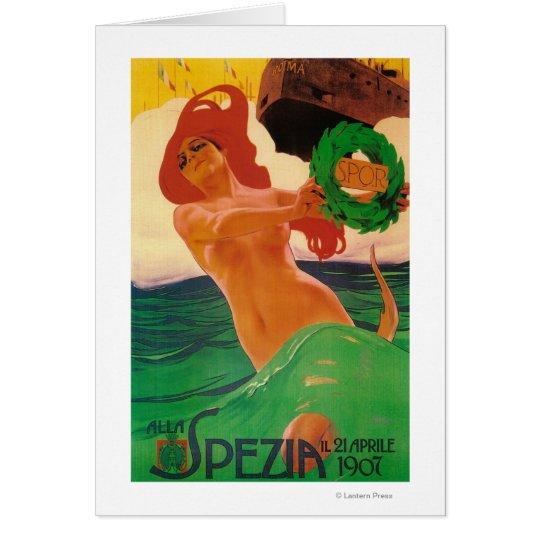 Alla Spezia Promotional Poster Card