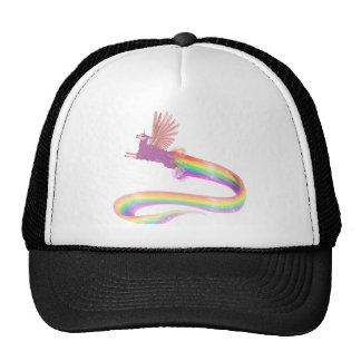 Allamacorn Rainbow Trucker Hat