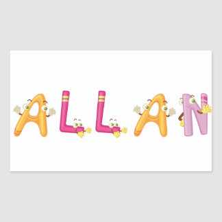 Allan Sticker