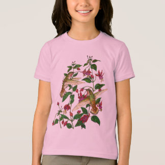 Allan's Hummingbird with Fuschia T-Shirt
