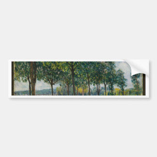 Allée of Chestnut Trees - Alfred Sisley Bumper Sticker
