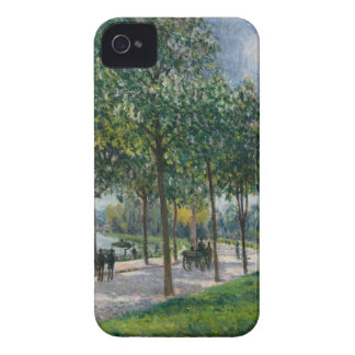 Allée of Chestnut Trees - Alfred Sisley Case-Mate iPhone 4 Case