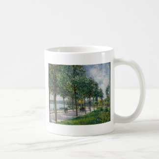 Allée of Chestnut Trees - Alfred Sisley Coffee Mug