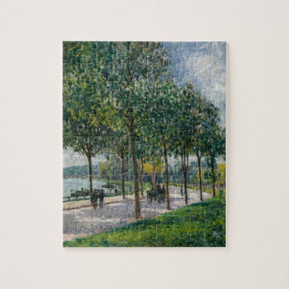 Allée of Chestnut Trees - Alfred Sisley Jigsaw Puzzle
