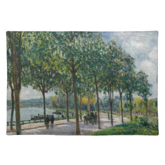 Allée of Chestnut Trees - Alfred Sisley Placemat