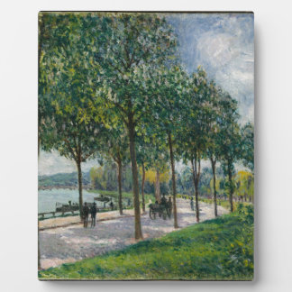 Allée of Chestnut Trees - Alfred Sisley Plaque