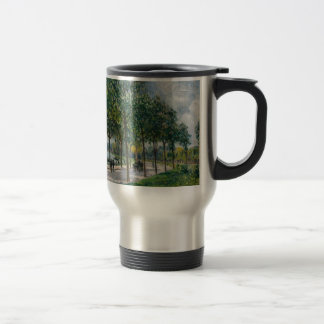 Allée of Chestnut Trees - Alfred Sisley Travel Mug