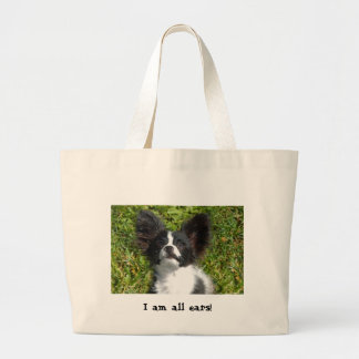 allears large tote bag