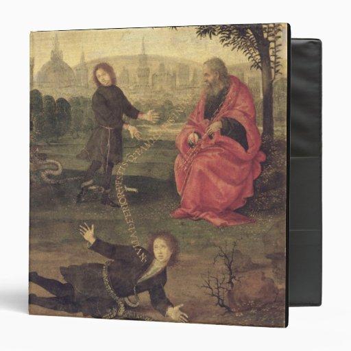 Allegory, c.1485-90 (oil on panel) vinyl binder