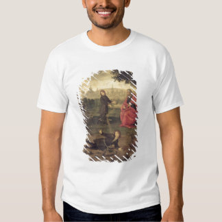 Allegory, c.1485-90 (oil on panel) t-shirts