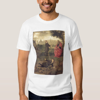 Allegory, c.1485-90 (oil on panel) tee shirts