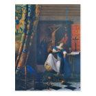 Allegory of Faith by Johannes Vermeer Postcard