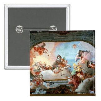 Allegory of Marriage of Rezzonico to Savorgnan 2 Inch Square Button