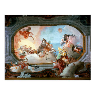 Allegory of Marriage of Rezzonico to Savorgnan Postcard