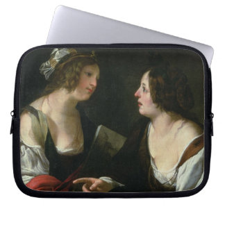 Allegory of Painting and Architecture, c.1620 (oil Laptop Sleeve