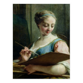Allegory of Painting Postcard