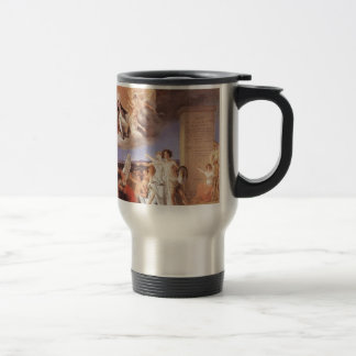 Allegory of the virtues of King João VI by Domingo Stainless Steel Travel Mug