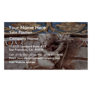 Allegory Of Virtue Detail By Raffael (Best Quality Pack Of Standard Business Cards