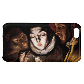 Allegory with Boy Lighting Candle by El Greco iPhone 5C Covers