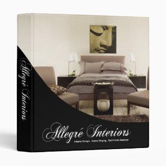 Allegré Home Stager Interior Designer Binder