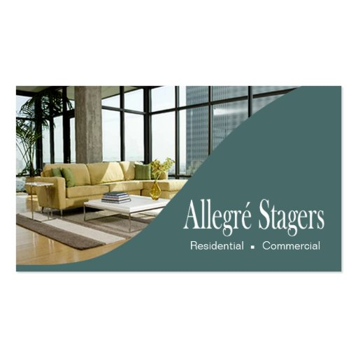 Allegr Stagers Home Staging Interior Design Zazzle