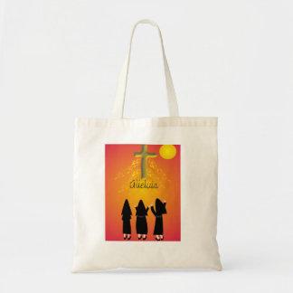 """Alleluia"" Catholic Religious Gifts Tote Bag"