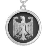 Allemand Eagle Pendentif Rond