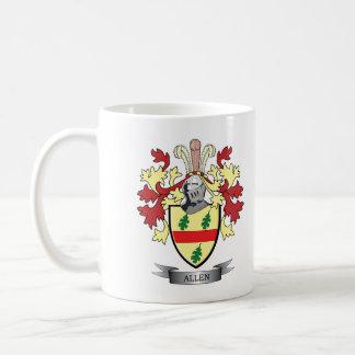 Allen Coat of Arms Coffee Mug