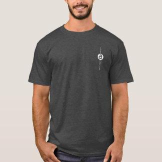 Allen Creative Making Waves White on Dark T-Shirt